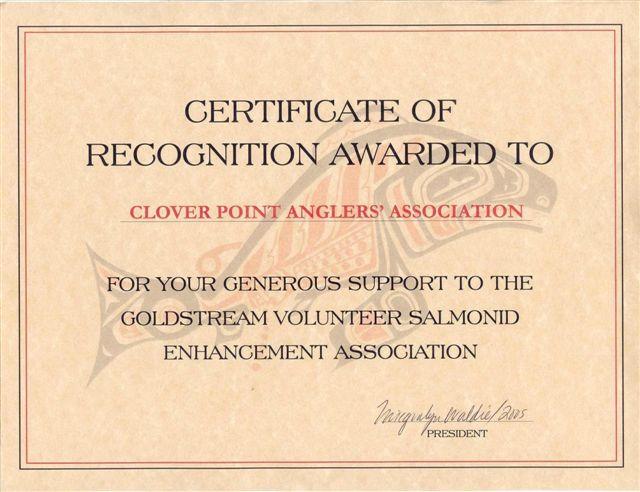 GVSEA Certificate